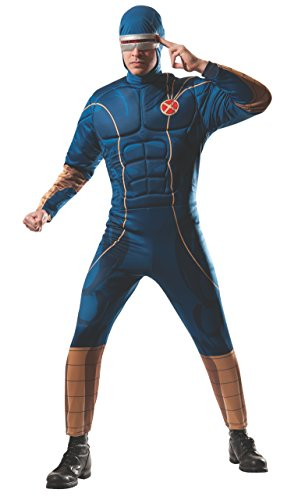 Dress Cyclops Fancy Costumes (Rubie's Costume Men's Marvel Universe Adult Cyclops Costume, Multi,)
