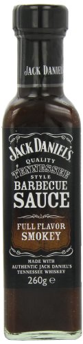 Jack Daniels Full Flavour Smokey BBQ Sauce 260 g (Pack of 8) ()
