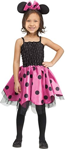 Missy Mouse Kids Costume - Large (8-10) Pink ()
