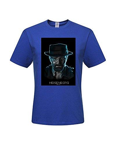DIY Heisenberg T-Shirts,Men's 100% Cotton Short Sleeve T-Shirt (Medium)