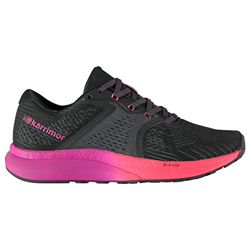 Karrimor Femme Excel 3 Chaussures De Course Charcoal/Coral 41 3e0GZHy