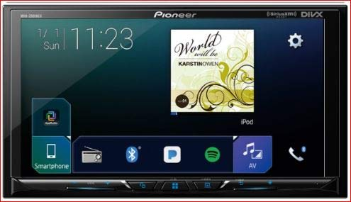 Pioneer MVH-AV251BT Digital Multimedia Video Receiver with 7'' Hires Touch Panel Display, Apple CarPlay, Android AUT, Built-in Bluetooth, and SiriusXM-Ready (Does not Play CDs)