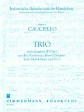 - Trio D-dur Per Due Mandolini E Bc