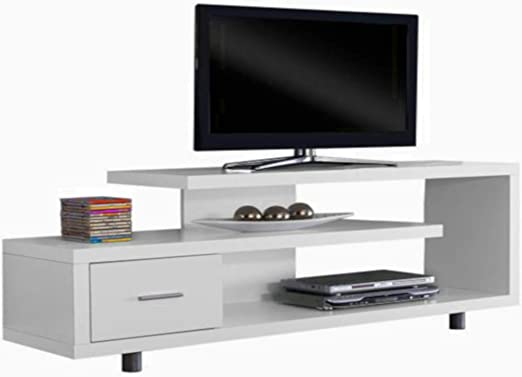 Mesa consola de entretenimiento de 3 niveles, de la marca STS ...