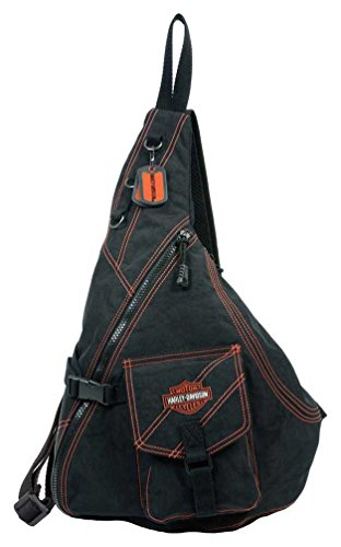 Harley Davidson Womens Purse Crinkle Embroidery