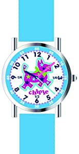 Chipie Girl`s White Dial Rubber Band Watch [5210104]