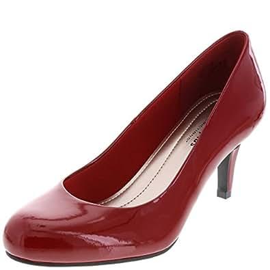 Comfort Plus by Predictions Women's Red Patent Karmen Pump 5 M