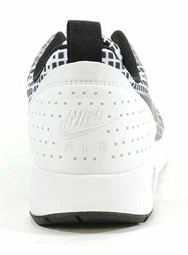 Nike Air Max Tavas Print Zapatillas de running, Hombre Blanco / Negro (White/Black-Black)