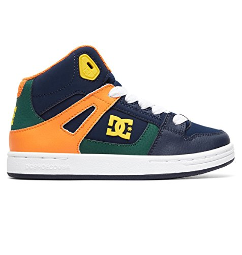 DC Boys' Pure High Top Skateboarding Shoes Multi discount huge surprise cheap best prices fashion Style online pmq03rC
