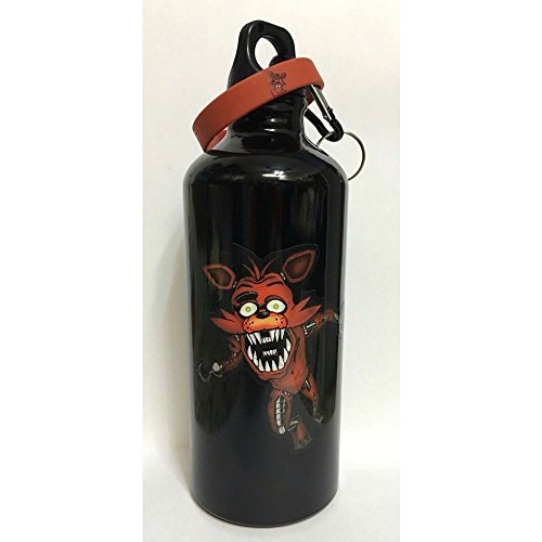 FIVE NIGHTS AT FREDDY'S Bracelet Scary FOXY 20 oz WATER BOTTLE FNAF 5 Best Selling