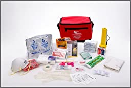 American Preparedness 7201 58 Piece One Person Basic Essentials Emergency Preparedness Kit