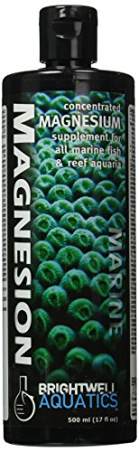 Brightwell Aquatics ABAMAG500 Magnesion Liquid Salt Water Conditioners for Aquarium, 17-Ounce (Supplement Liquid Magnesion Magnesium)