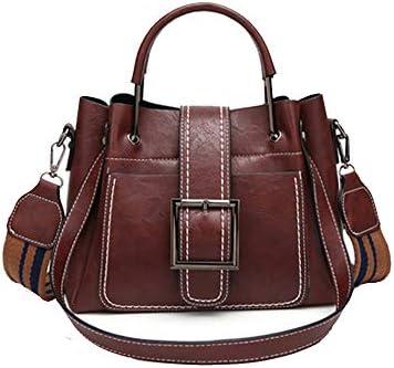 2527237ccca7 Kingto Women Small Leather Handbag Messenger Bag Tote Top-Handle ...