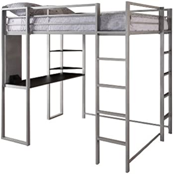 Amazon.com: Coaster Loft Bed Full Size Work Station: Kitchen & Dining