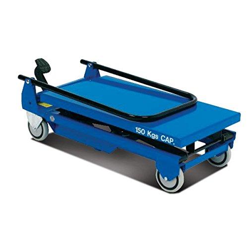 Pake Handling Tools - Low Profile Light Weight Scissor Lift Table, 330 lbs, 30 X 18'' Platform Size