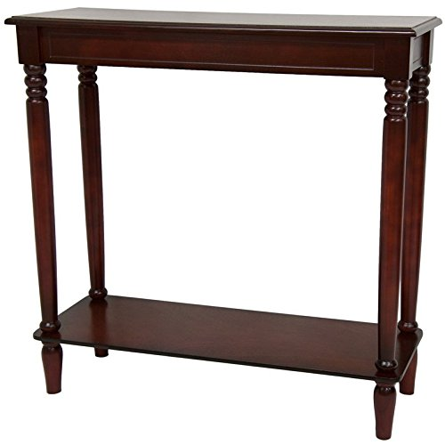 ORIENTAL FURNITURE 31'' Classic Design Hall Table - Cherry by ORIENTAL FURNITURE (Image #1)