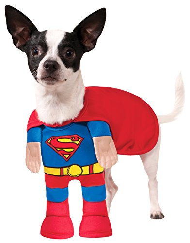 Rubies Costume Company DC Comics Superman Pet Costume, Medium