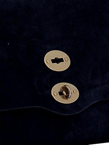 Bleu Zanellato à Sac Taille Bleu Unique pour Main Femme gwBw1ZqF