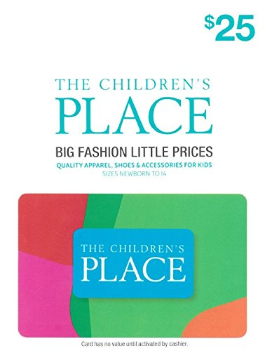 The Children's Place $25 Gift (New Baby E-gift Certificate)