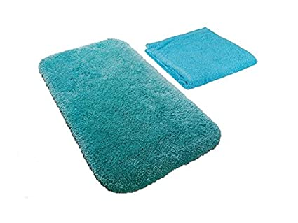 Tappeti Bagno Turchese : Carpe modo pezzi set da bagno antron tappeto da bagno x