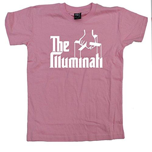 Stooble Boys's Puppet Illuminati Light Pink T-Shirt, Size 4years (Illuminati 4 Light)