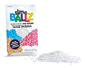 FloraCraft Slime Ballz-5mm Eps Foam Balls-Two Cups-1 Package 1