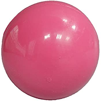 Amazon.com : Rubber Bouncy Ball Dog Toy (L) (Pink) : Pet