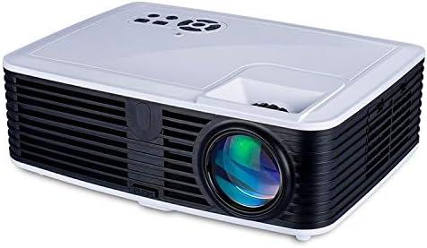 Opinión sobre Zhoutao VS768 Android 4000ANSI lúmenes Resolución 1980x1080 LED LCD Tecnología Inteligente de proyector, la Ayuda AV/HDMI/USB/VGA (Color : White+Black)