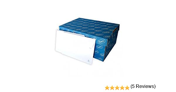 79f363fce327 Sam - Sobre Tira Silicona Apertura Fácil 90 Gr. 120 X 176 Mm Caja 500 Sobres:  Amazon.es: Oficina y papelería
