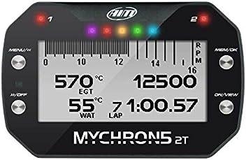 AiM MyChron 5 2T Dash Logger w/GPS w/WiFi - 2 Temp Sensors