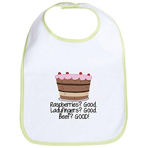 CafePress - Joey Likes Trifle - Cute Cloth Baby Bib, Toddler Bib