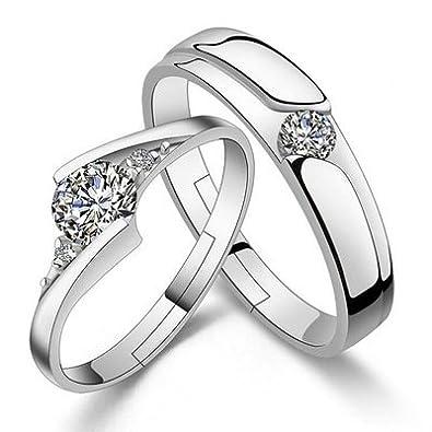 6dabf54f84148 Du Lijun Simulated diamond ring eternity-Japanese Korean couple ...
