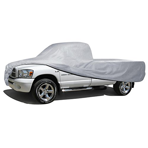 BDK Truck Cover Outdoor Indoor No-Scratch Lining Pickups for Extended Cab (Truck Covers)
