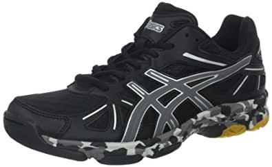 ASICS Women's GEL-Flashpoint Shoe,Black/Charcoal/Silver,9.5 M US