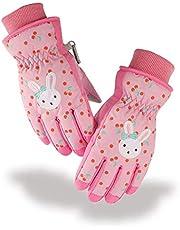 Azarxis Kid Snow Ski Winter Gloves Children Waterproof Cold Weather Warm Mittens