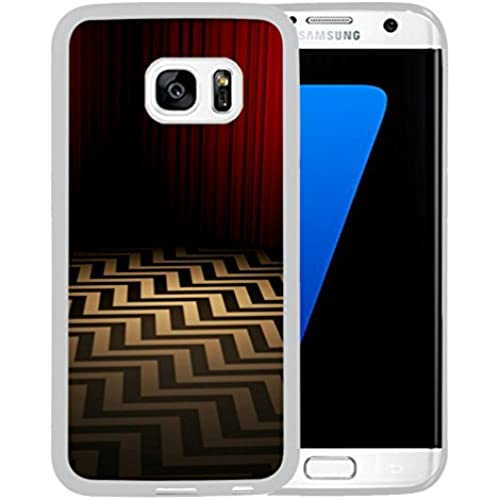 Galaxy S7 Edge Case,S7 Edge Case,art chevron Case for Samsung Galaxy S7 Edge - TPU White Sales