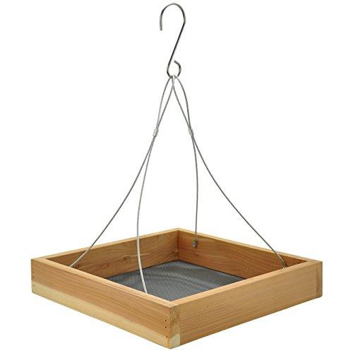 Tray Bird (Gardirect Cedar Platform, Cedar Tray Bird Feeder)