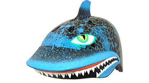 Raskullz Shark Attax Helmet (Black, Ages 5+)