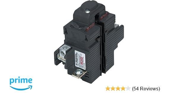 P250 50 Amp Double Pole 120//240 Volt Pushmatic Circuit Breaker