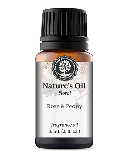 (Rose & Peony Fragrance Oil (15ml) For Diffusers, Soap Making, Candles, Lotion, Home Scents, Linen Spray, Bath Bombs, Slime)