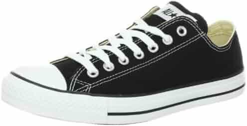 Converse Unisex Chuck Taylor All Star Low Top Black Sneakers - 12.5 B(M) US Women / 10.5 D(M) US Men