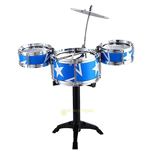 [Jazz Drum Set for Kid Child Early Education Toy Percussion Instrument Great Gift] (Child Star Wars Costume Australia)