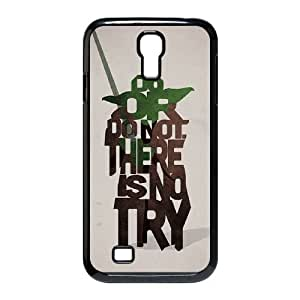 Personalized Durable Cases Samsung Galaxy S4 I9500 Cell Phone Case Black Do or do not There is no try Whnmc Protection Cover