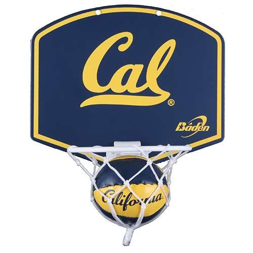 - California Golden Bears Mini Basketball and Hoop Set
