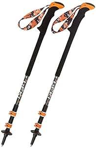 Leki Thermolite XL Walking Poles Black Orange