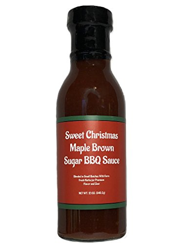 Sweet Christmas Maple Brown Sugar BBQ Sauce - Blended in Sma