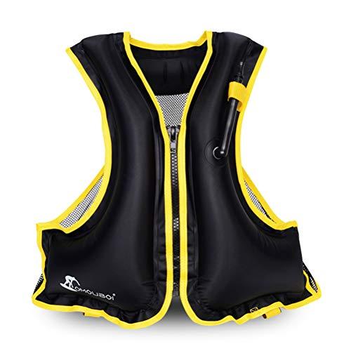 OMOUBOI Snorkel Vest Life Jacket Inflatable Kayak Life Vest for Adults and Youth...