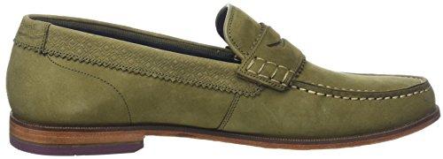 Ted Baker Uomini Miicke 5 Pantofola Verde (verde Scuro)