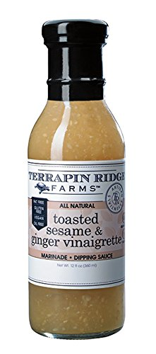 Ginger Vinaigrette (Terrapin Ridge Farms Dressing, Toasted Sesame and Ginger Vinaigrette, 12)