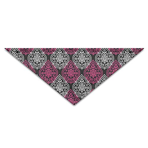 OLOSARO Dog Bandana Lace Medallion Courtesan Triangle Bibs Scarf Accessories for Dogs Cats Pets Animals]()
